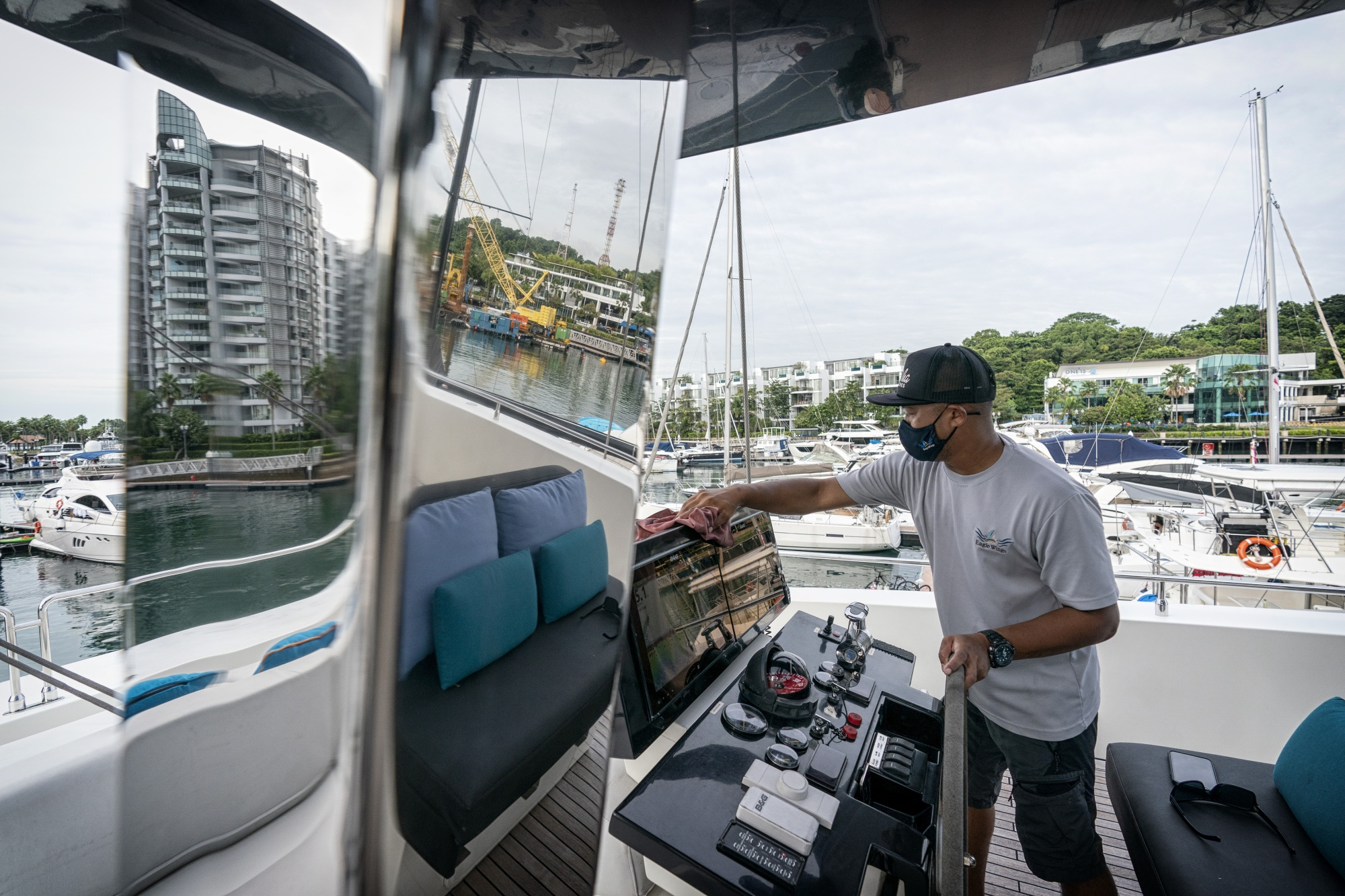 Onboard a Yacht as Singaporeans Stuck on Island Turn to Daycations