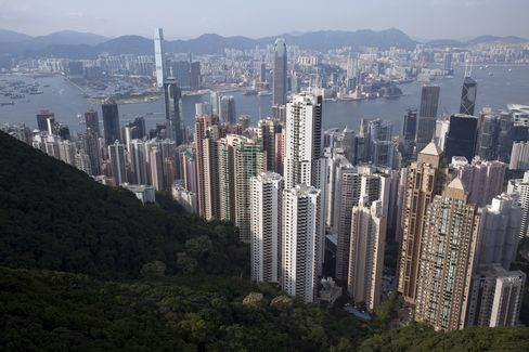 Hong Kong Used Home Sales Fall
