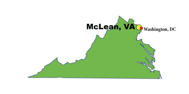 Most Expensive Suburb in Virginia: McLean