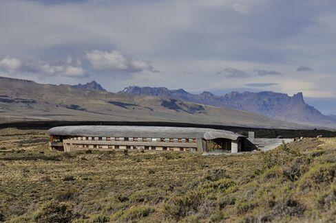 しゃれた建築が印象的なチリのティエラパタゴニア