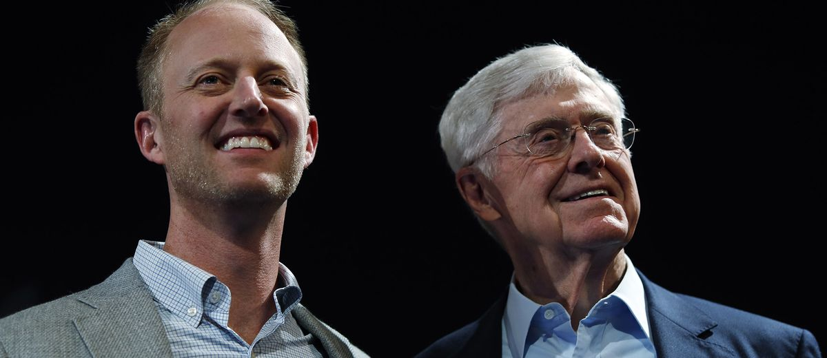 Kochs Downplay Politics to Find Common Ground in Liberal Silicon Valley