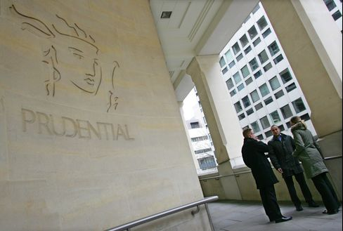 The headquarters of Prudential