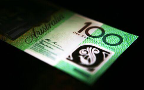 Aussie Falls Below $1.01 First Time Since March