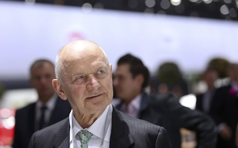 Volkswagen and MAN Supervisory Board Chairman Ferdinand Piech