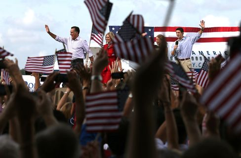 Romney Heads to Louisiana on First Day as Party Nominee