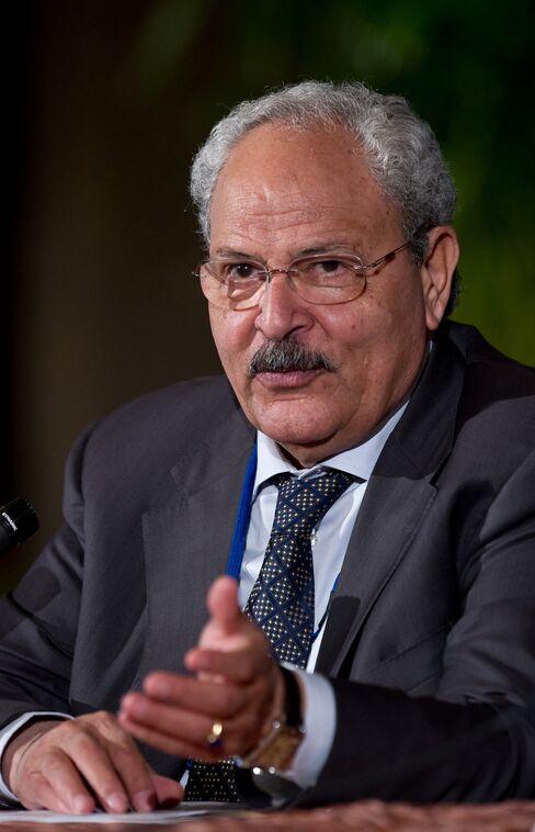 Egypt's Finance Minister Samir Radwan