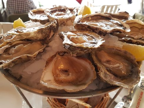 Huguette oysters.