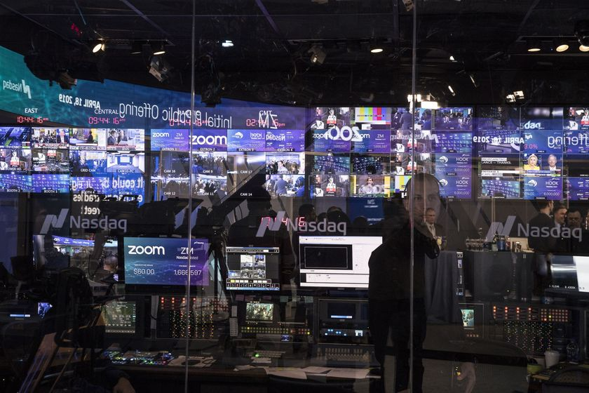 Zoom Video Communications Inc. Debuts Initial Public Offering At Nasdaq MarketSite