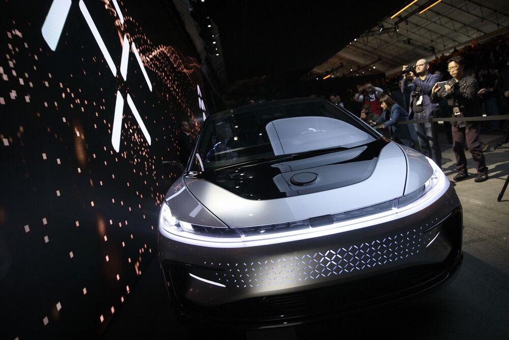 The Faraday Future Ff91 Electric Car