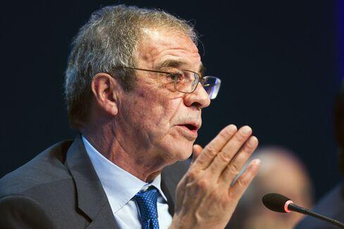 Telefonica SA CEO Cesar Alierta