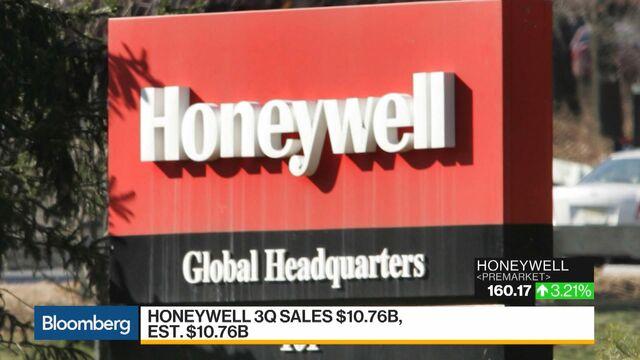 Honeywell Extends Sales Streak on Aerospace, Automation Gains