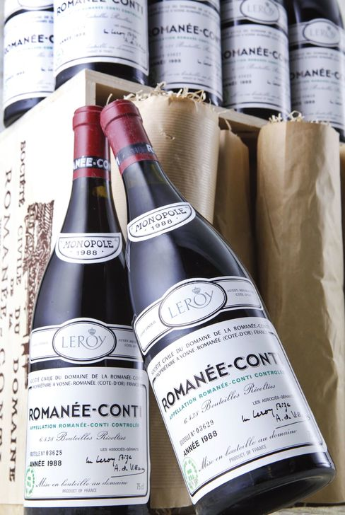 Romanee-Conti at $23,000 a Bottle Leads Acker's Hong Kong Sale