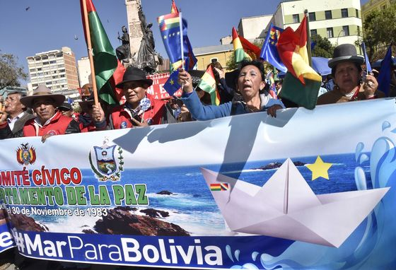 Landlocked Bolivia Dealt Blow in Fight for Access to Sea