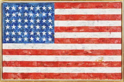 ``Flag'' by Jasper Johns
