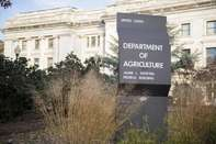 Department of Agriculture sign