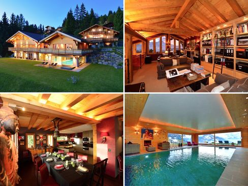 A ski-in/ski-out chateau in Barboleuse