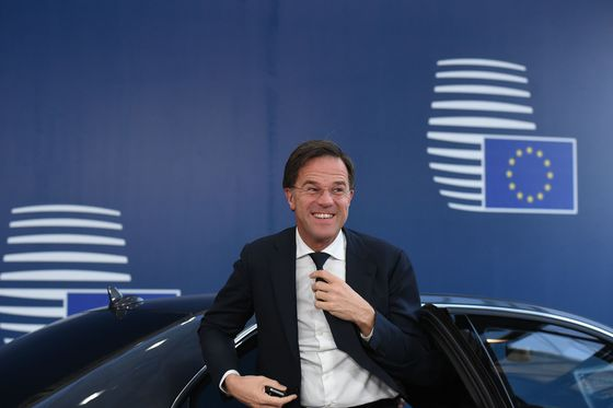 Dutch PM Likens May's Brexit Tenacity to Monty Python'sBlack Knight