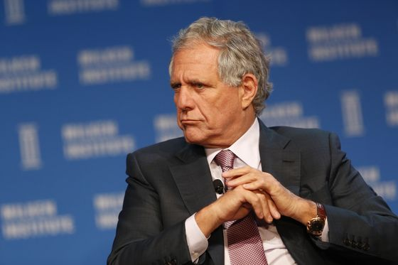 CBS's Moonves Toppled by Harassment Cases, Redstone Clash
