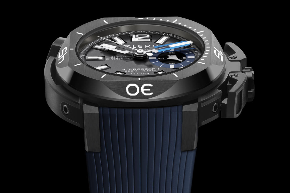 Clerc CHYE-144 Hydroscaph Central Chronograph
