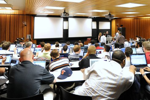Even With a Female Dean, Most MBAs Are Still Men