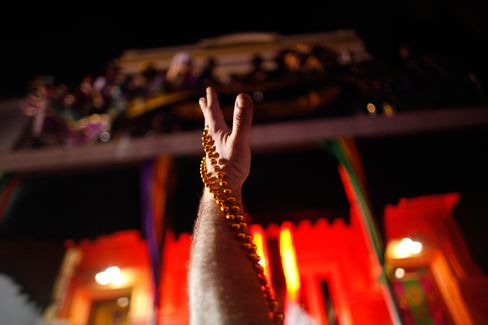 Mardi Gras Beads, Strings Attached