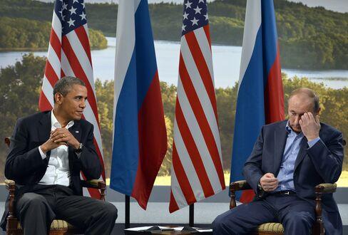 President Barack Obama and Russian President Vladimir Putin