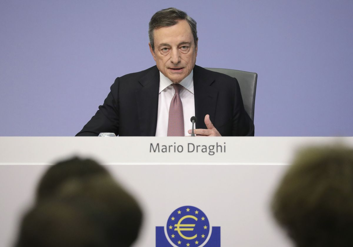 Draghi Could Cripple One of the Hottest Trades in U.S. Rates
