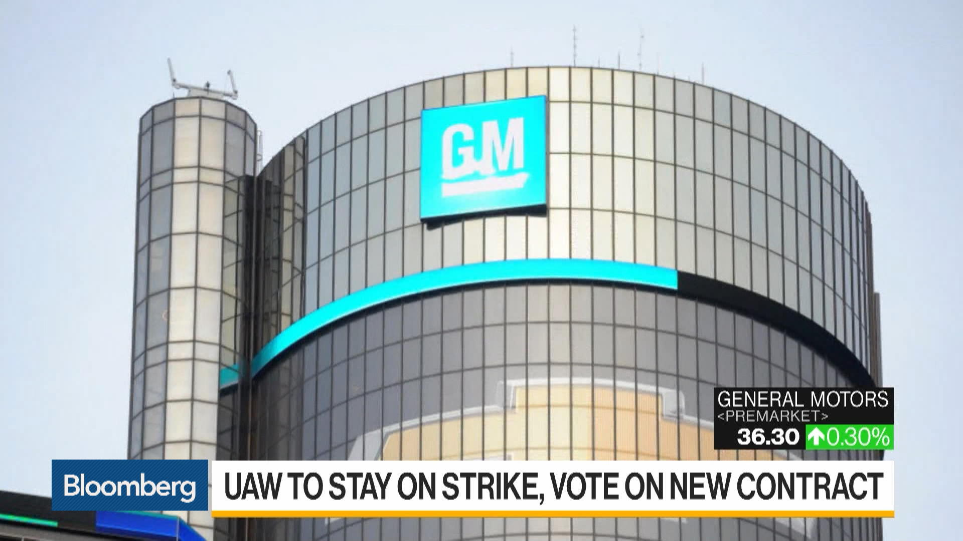 UAW's GM Strike to Continue Until Vote to Ratify Contract