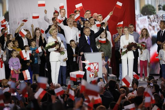 Trump Ally Wins in Poland, Boosting Nationalist Makeover