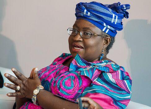 Former Nigerian Finance Minister Ngozi Okonjo-Iweala.