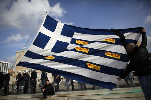 EU Drops Clues on Greater Investor Role in Greek Bailout
