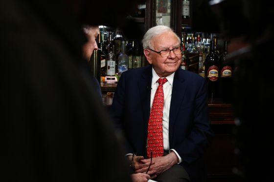Warren Buffett's Buying Shows Hunger for Stocks, Including His Own