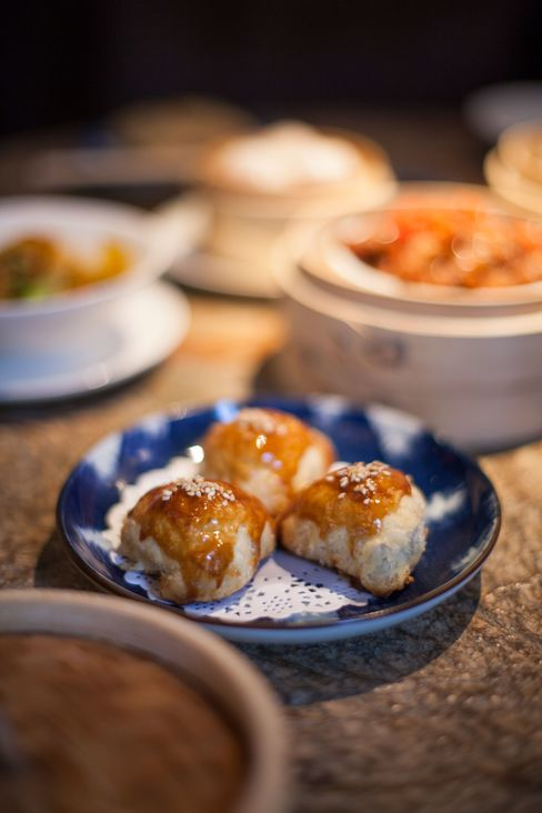 The menu features dishes from across China, including first-class dim sum.