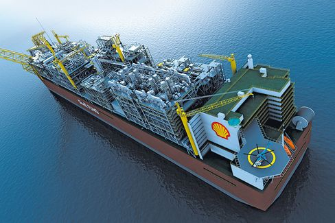 Shell's LNG-Producing Monster Ship, Prelude