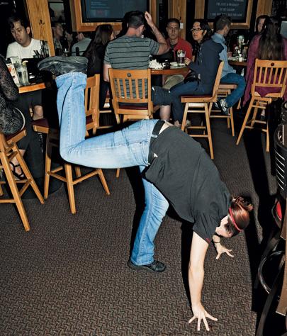 'Applebee's is a weird party to work,' says DJ Christian Davis