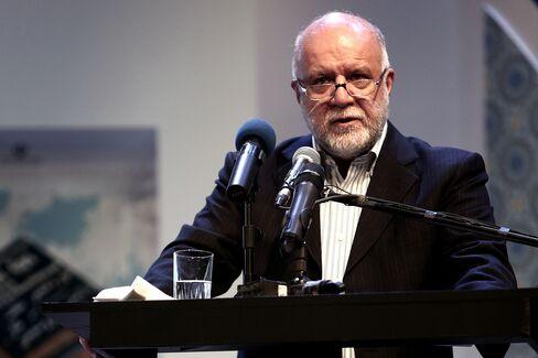 Iran's Oil Minister Bijan Namdar Zangane