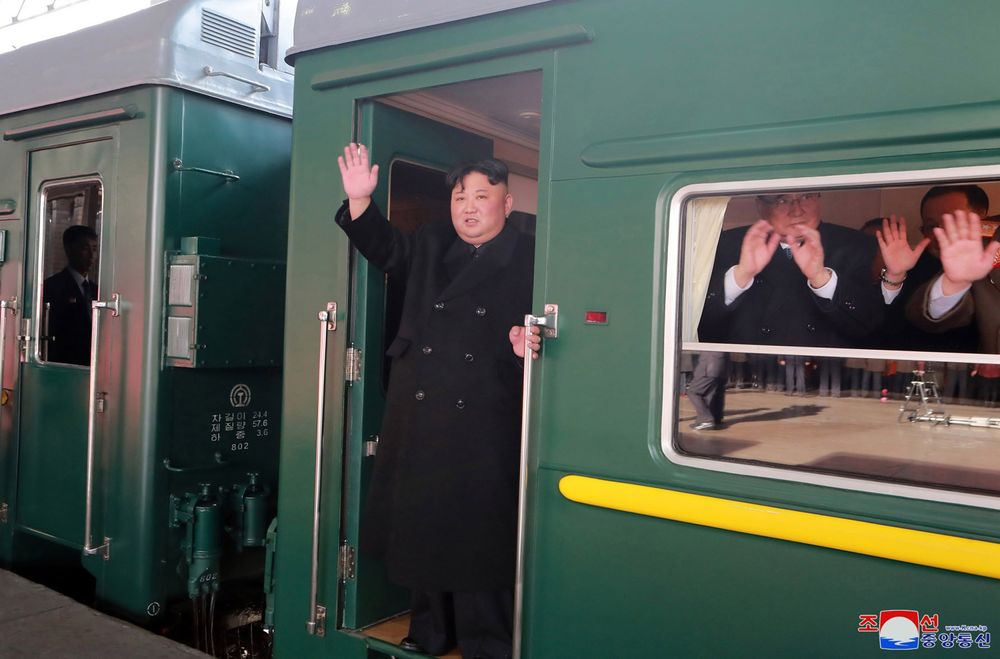Kim Jong Un Begins Long Train Trek to Vietnam for Trump Summit