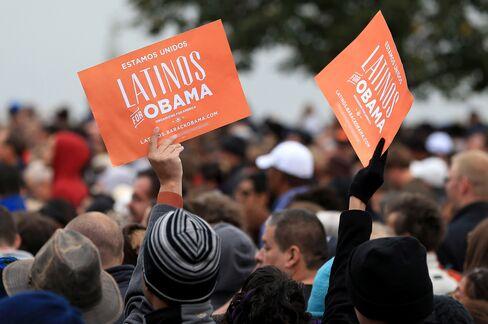 Obama Says Republicans Alienating Hispanics May Sway Election