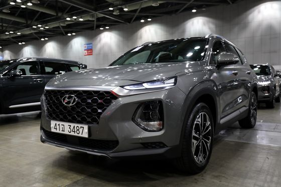 Hyundai's Hopes for U.S. Sales Rebound Ride on theRevamped Santa Fe