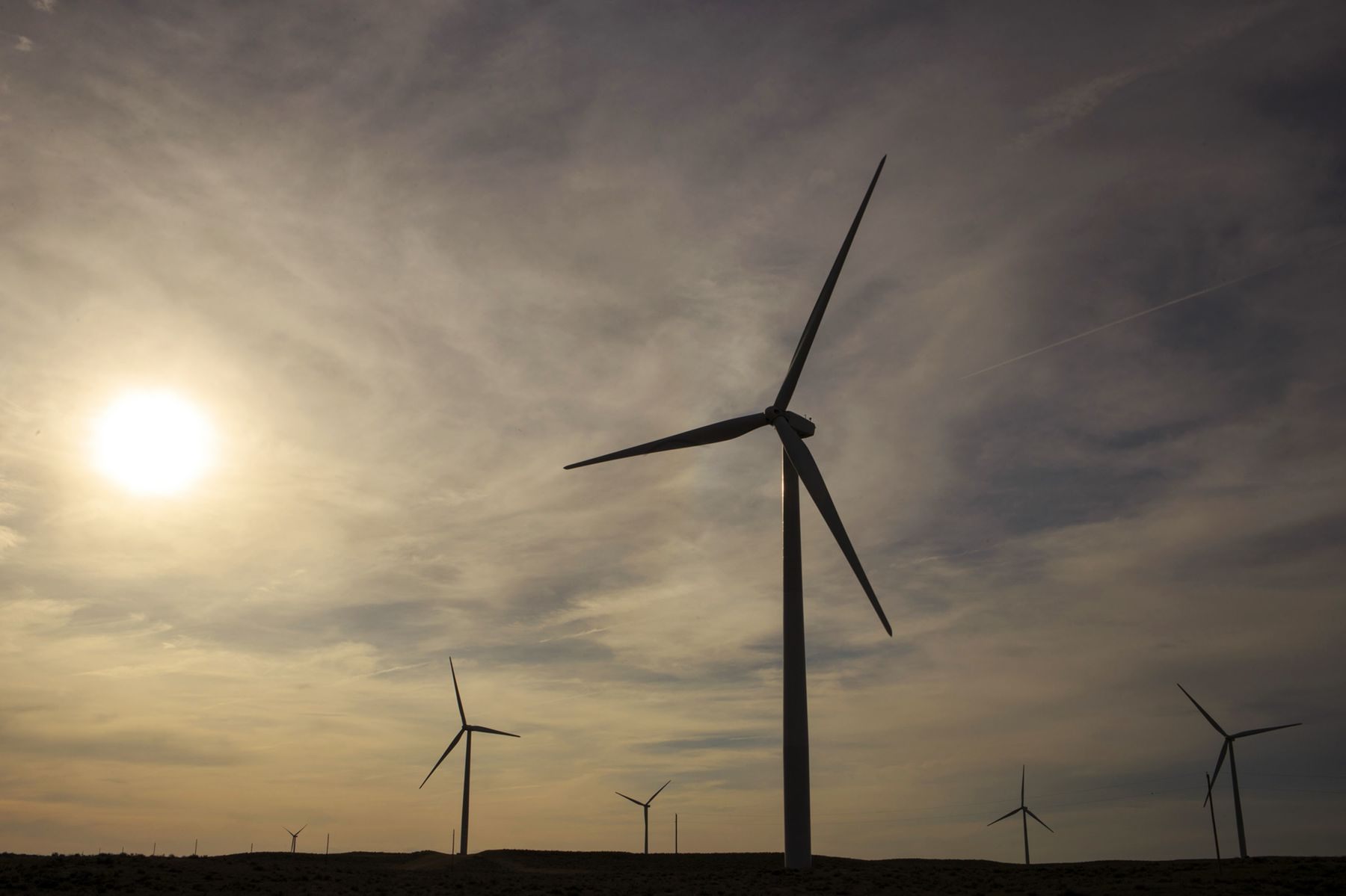 Wind farminColorado, U.S.,
