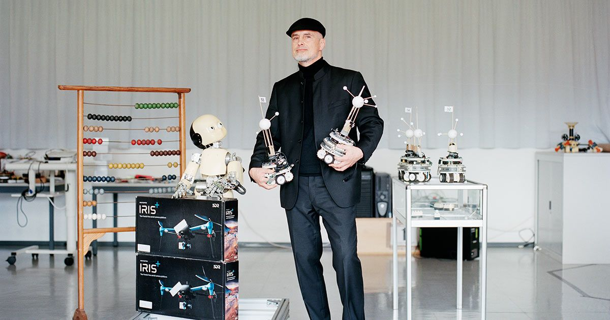 This Man Is the Godfather the AI Community Wants to Forget