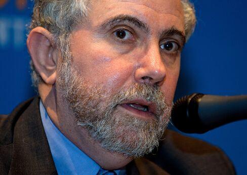 Krugman, Ferguson Renew Debate Over U.S. Fiscal Stimulus