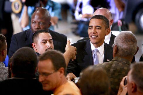 U.S. President Barack Obama in Indiana