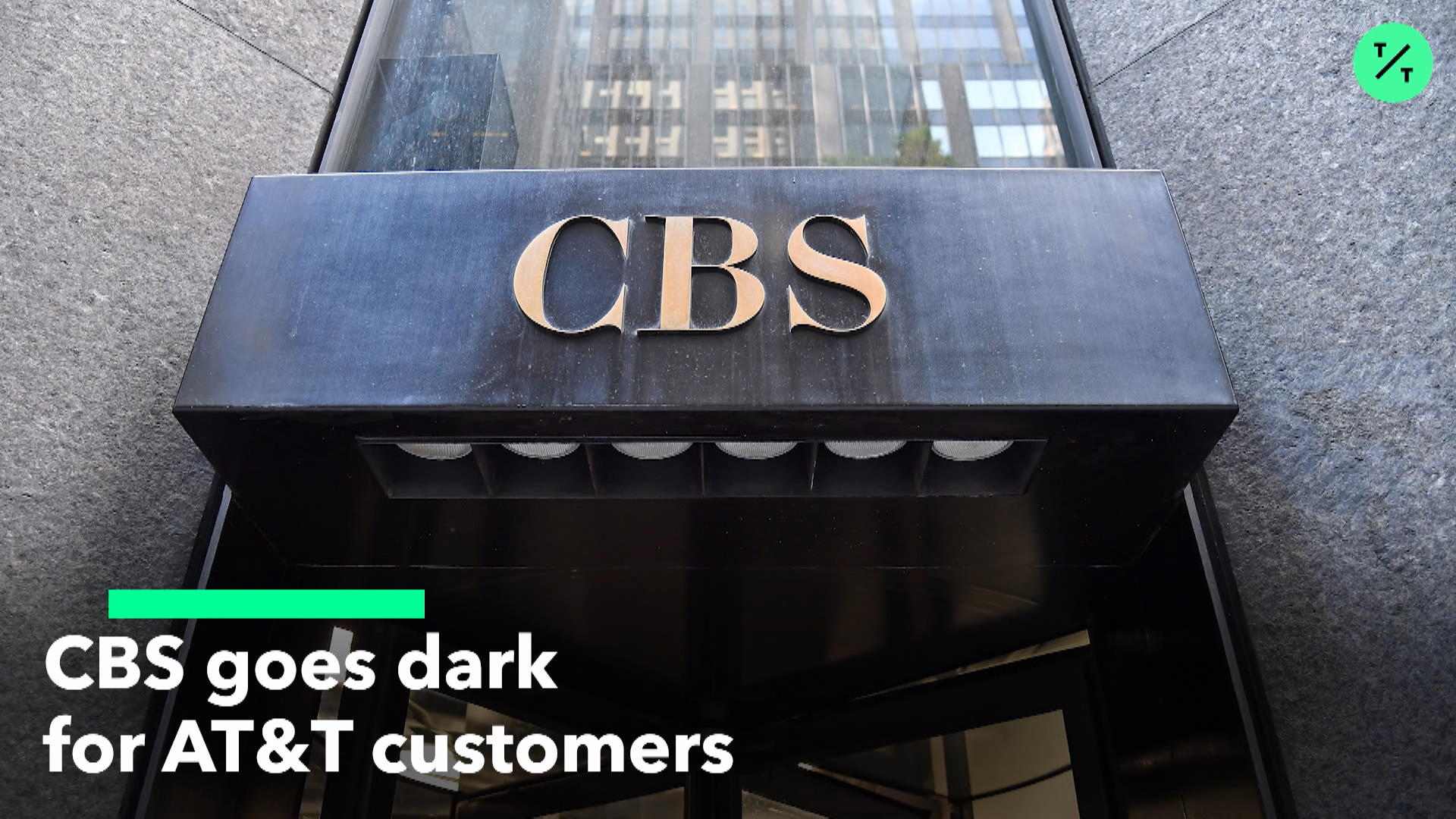 CBS Goes Dark For AT&T Customers