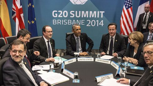 World Leaders Meet On Day Two Of The G-20 Summit