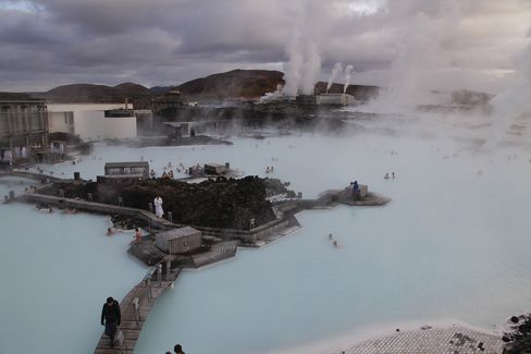 Tourist Economy At The Blue Lagoon Thermal Spa