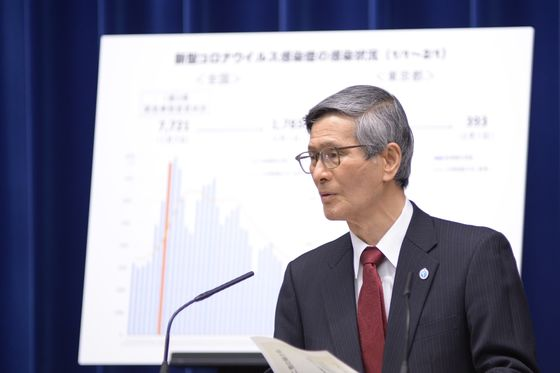 Japan's 'Dr. Fauci' Damps Olympic Mood With Call to Ban Fans