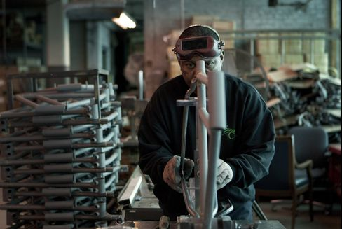 Manufacturing Contributed Less to U.S. Economic Growth Last Year