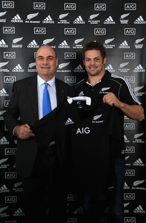 AIG Has Deal for New Zealand Rugby Sponsorship, Herald Reports