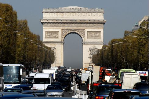 France's AAA Grade at Risk as Downgrades Sweep Europe